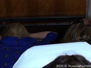 Russian Foot Worship-2