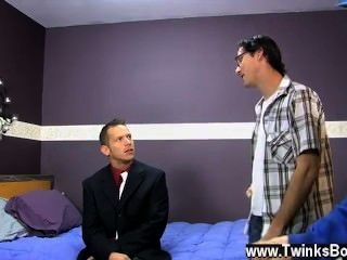 Hot Gay Scene When The Assistant Picks Up A Brown Haired Rent Boy,