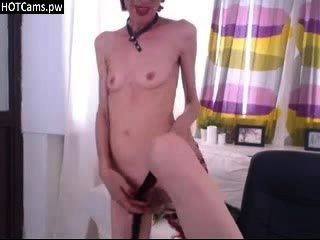 Skinny Granny Webcam Show