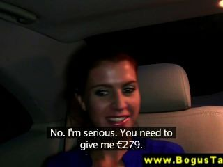 Real Girlnextdoor Cocksucking In A Taxi