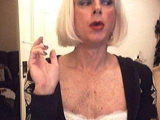 Smoking Sissy Chrissy