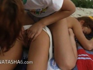 Two Lesbian Teens From Russia