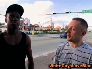 Hungry Public Amateur Loves Interracial