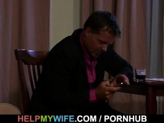 Juicy Wife Gets Her Pussy Pleased By A Stranger