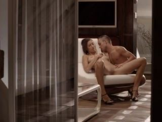 Luxury Sex With Subtle Babe On A Chair