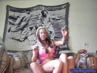 Blonde Smoking Sex
