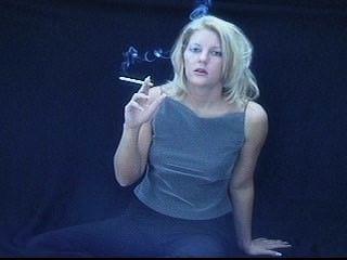 Blonde Smoking 120 Part 3