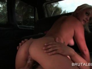 Blonde Amateur Hottie Filling Her Pussy With A Giant Cock