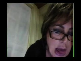 Teacher Show Her Other Side In Webcam
