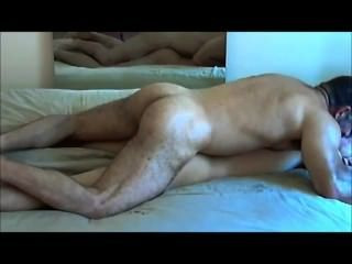 Neighbor Boy Is Plowed By A Hung Top