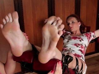 Czech Sexy Feet - Courtney Worshipped Miranda's Feet