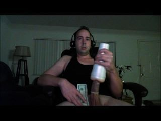 Thick Long Cock Cums Twice With Fleshlight