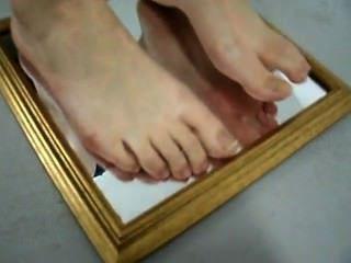 Feet On Mirror