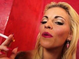 Dunia Montenegro & Jordanne Kali Smoking