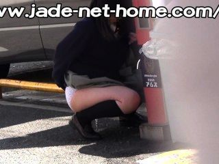 Hase Voyeurism Not On Time Pee Of School Girls_