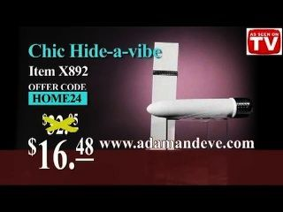 The Chic Hide-a-vibe Personal Mini Travel Bullet Vibrator Home Shopping Tv