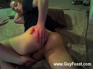 Gay Porn Blonde Haired Lukas Lays Back Whilst A Pair Of Hands Undress Him
