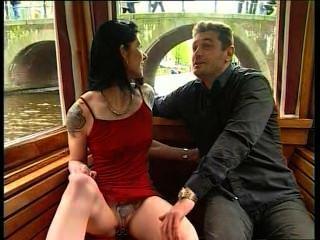 Hooker Cassandra Fucks A Guy In Public