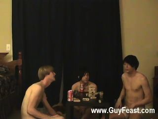 Hot Gay Trace And William Acquire Jointly With Their Fresh Friend Austin