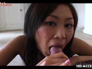 Oriental Ho Gives Sleaze Mouth-fuck And Has Down And Erotic