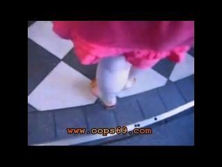 Fingering Under Mini Skirt