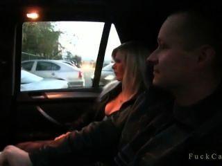 Blonde Emo Teen Gets Fucked In Car Tmb