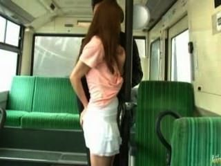 Asian Girl Gets Fuck In Train