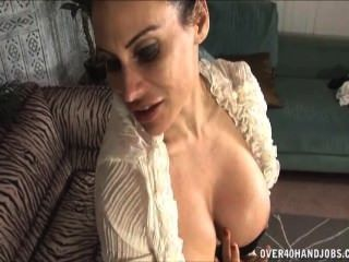 Brunette Milf Loves This Big Dick