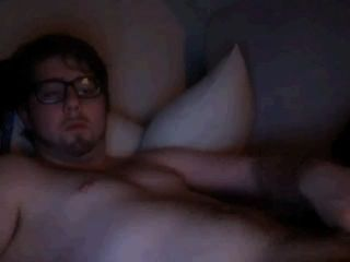 Chubby Cam Guy Stroking