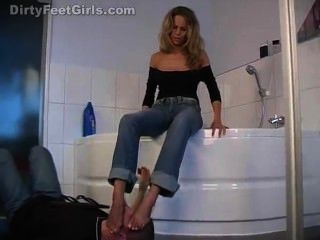 Dirty Feet Girls Anina