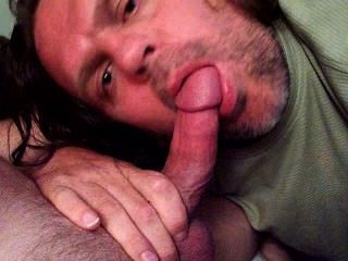 Sucking Cock.