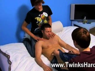 Gay Porn Dean Holland And Nathan Stratus Both Take Turns Servicing