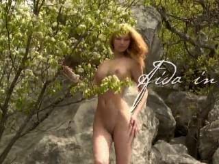 Aida Lion Nude Beautiful
