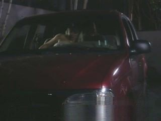 Blonde Milf Blows A Guy In Car