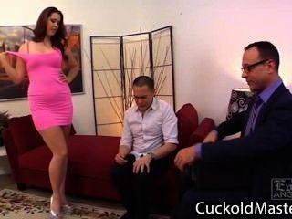 Dirty Wife Humiliate Her Husband Fucking Hot