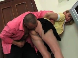 Mature Maid Have Anal Sex With Young Stud
