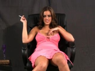 Katie Cummings Smoking And Masturbating