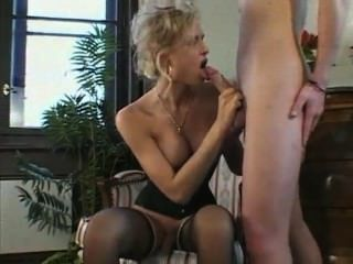 Stunning Young Blonde Gets Her Cock Touched And Fucked