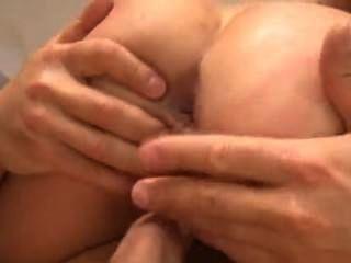 Blonde Schoolgirl And Fat Cock In Her Ass. Facial