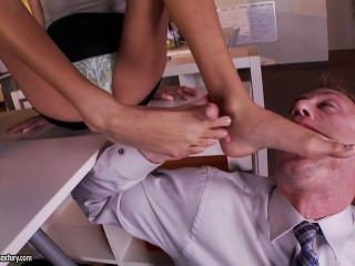 Janice Griffith Footjob