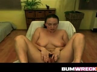 Amateur Hairy Teen Fingering And Playing With Dildo On Webcam