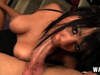 [420] Horny Ebony Babe Momoko Mitchell In Audition