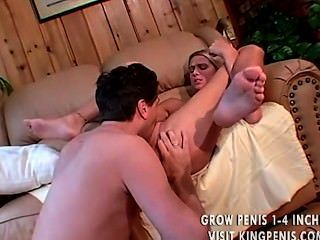 Cute Blonde Fucked In All Holes