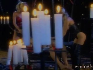 Fucking Two Sluts By Candlelight