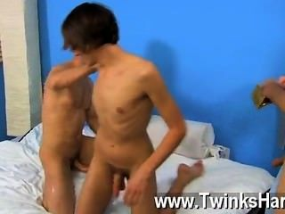 Hot Twink Scene Dean Holland And Nathan Stratus Both Take Turns Servicing