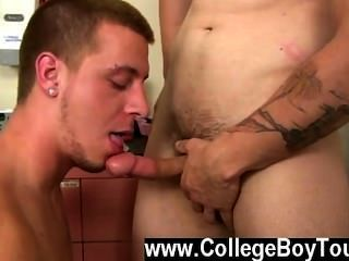 Amazing Gay Scene After Getting Serviced By My Experienced Mouth It Was