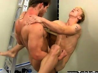 Gay Fuck Jordan Ashton Is Taking A Break When His Boss, Tyler Andrews,