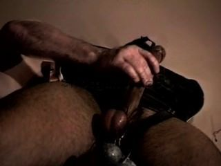 Huge Bodybuilder Ball Stretching And Cbt