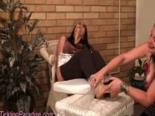 Negar Tickling Feet In Spa