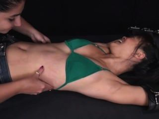 Asian Racked And Tickled